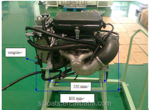 small Inboard Engine 100hp 200hp for water jet boat marine jet engine water jet pump