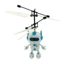 Electric mini remote controller flying robot toys