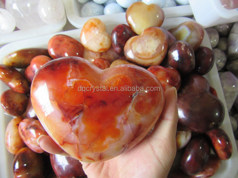 most popular red heart shape crystal diamond,new design heart shape crystal gifts