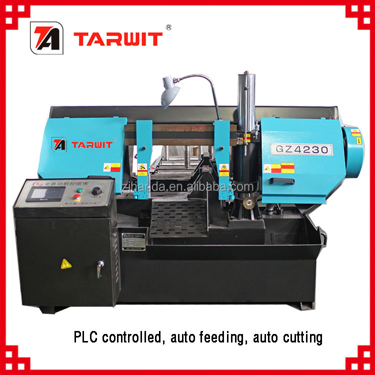 TARWIT export to Russia PLC controlled auto metal band saw machine GZ4230