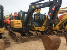 Nearly New, 2012 , South Korea Made Cralwer Used Excavator Volvo EC60C. Low using time