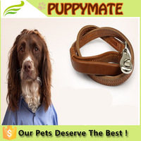 Best train genine leather dog leashes for large dogs