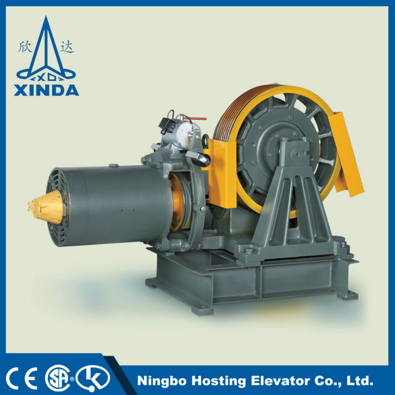 Brushless Geared Hub Motor Traction Motor For Elevator