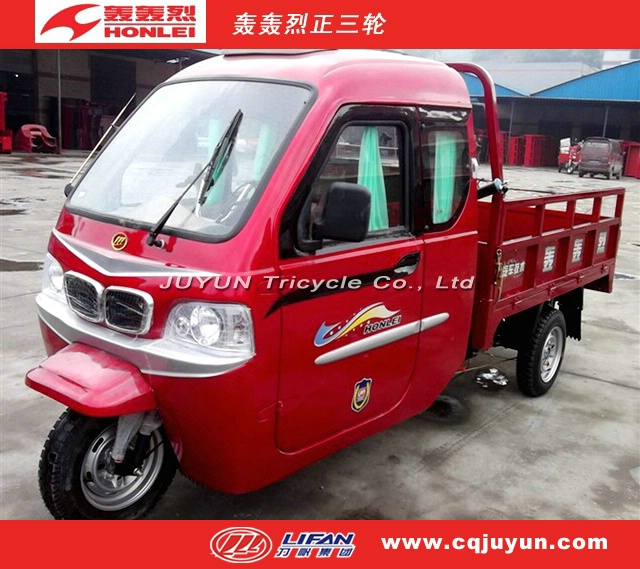 Chinese triciclo with cargo box/water cooling engine tricycle made in China HL150ZH-C05