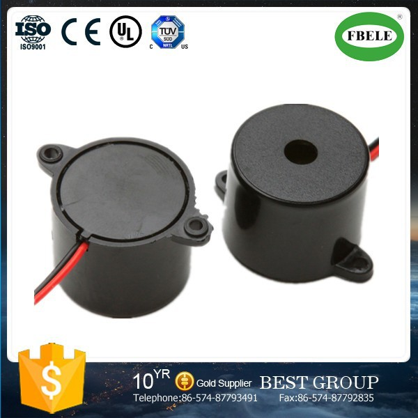 plastic electromagnetic buzze with pin
