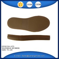 rubber sole for slippers