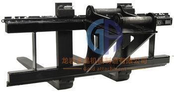 pallet fork frame for excavators