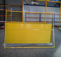 powder coated Canada safety guard 4'*9.5' temporary fence