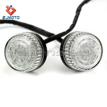 Chinese motorcycle parts streetfighter supermoto bikes led winker lamp 12v led flasher clignotants