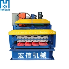 HX Double Layer Roll Forming Machine / rollformers, Metal Roofing, Corrugated Steel Sheet,Wall Panel, Glazed Tiles