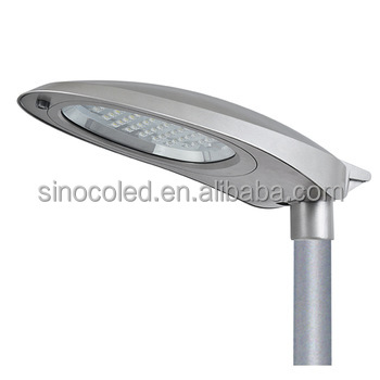 60w Integrated Solarled Street Light Ce Rohs New Model Ip65 aluminum 110lm/<strong>w</strong>
