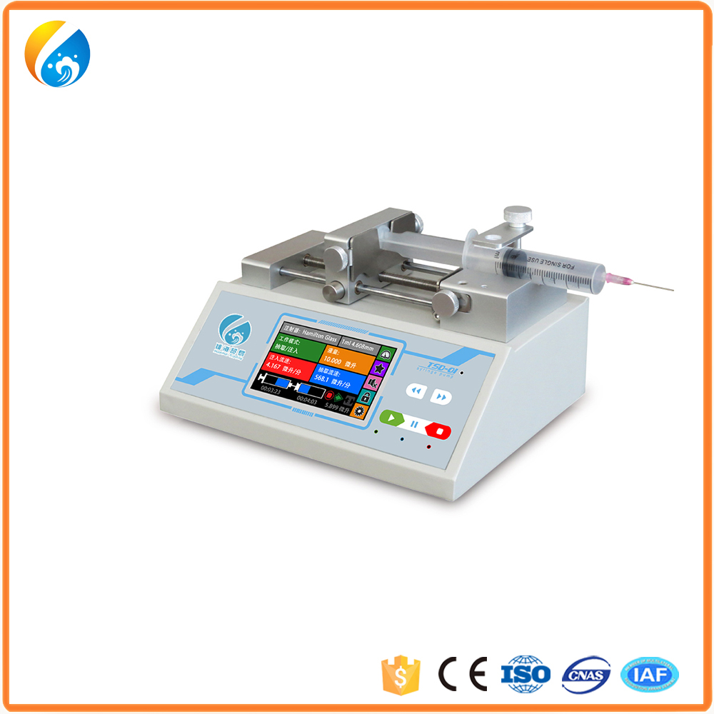 secure payment hot-sale latest micro polymer syringe pump
