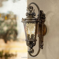 "Decoration Casa Marseille 21 1/2""H Veranda classical Bronze Outdoor Wall Light"