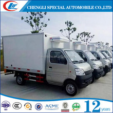 Brand supplier Mini Meat transport freezer truck Fish refrigerated truck for sale