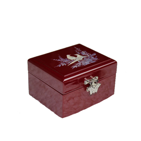 2017 Cosmetic craft box wonderful wooden jewel Storage case