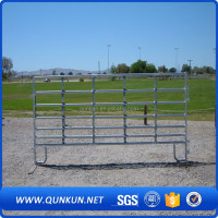 Hot sale galvanized livestock steel tube corral fencing panels