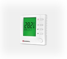 Digital modbus fan coil room thermostat for FCU system