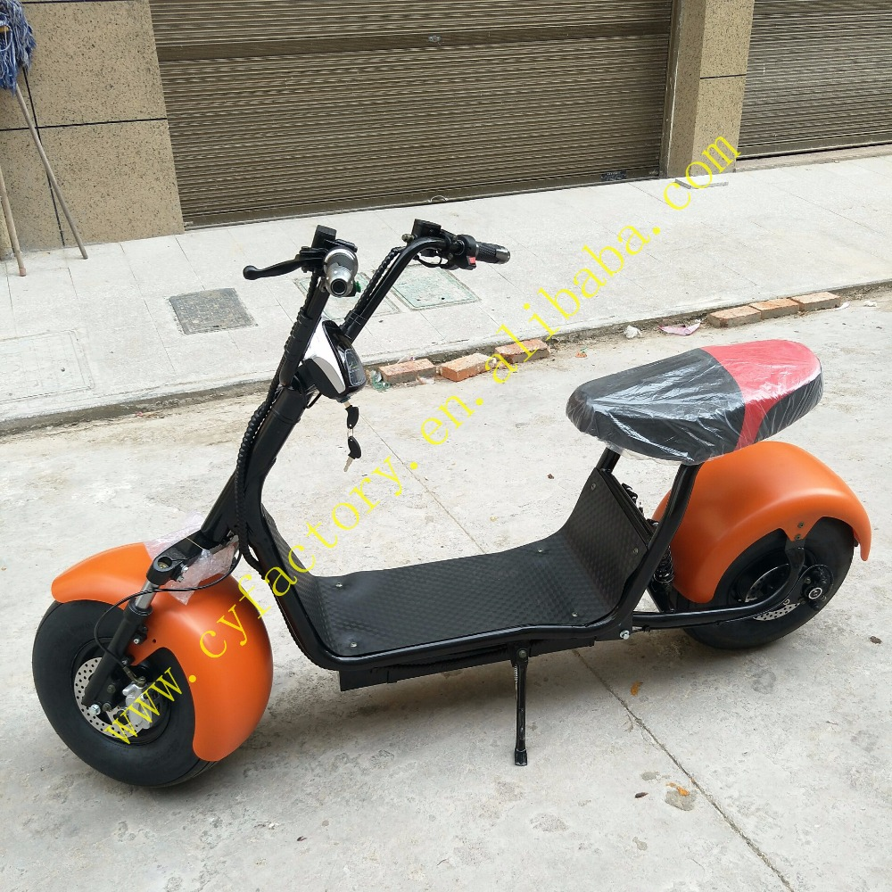 1000w/1500w max speed 50km/h brushless motor electric scooter