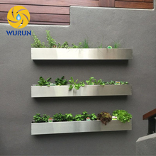 Garden metal wall vertical hanging planter