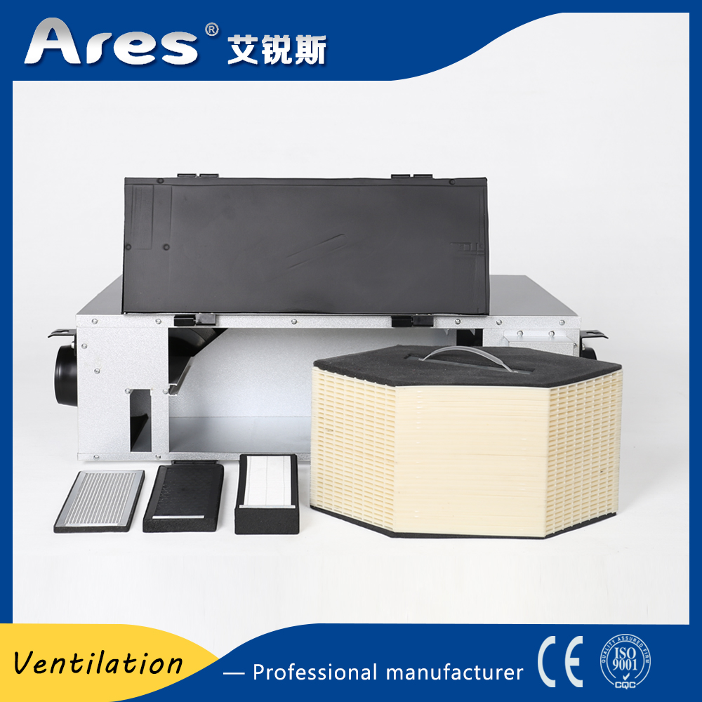 Best price PM2.5 purifying fresh air system erv hrv