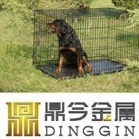 New Black Dog Supply Cage with ABS Tray