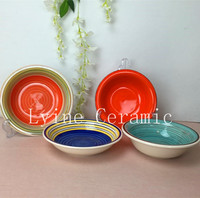 Fancy Delicate various styles porcelain food divider tray