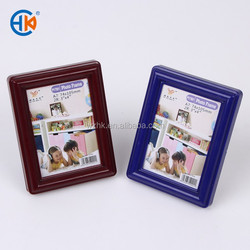 Desktop small plastic mini craft photo frame deep