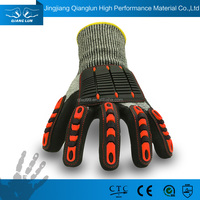 QLSAFETY Nitrile palm coated Yiwu rigger glove