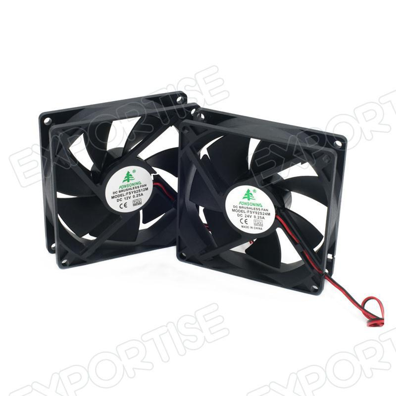 cpu cooler fan 12V 24V dc axial cooling fan hand fan holder