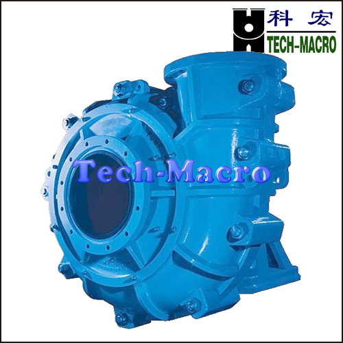 Centrifugal acid resistant phosphoric gypsum slurry pump series L(R) for phosphorus mineral processing