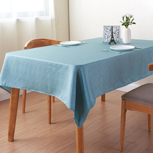 Custom Design Plain Dyed Made in China Table Cloth