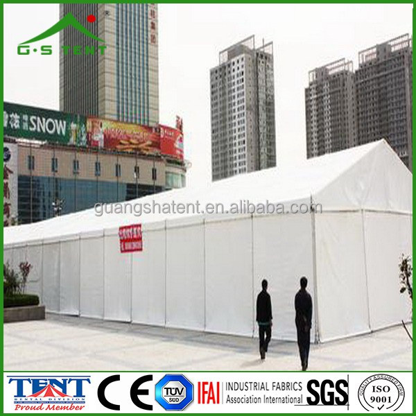 big outdoor waterproof industrial storage tent shelter