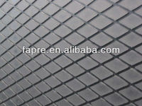 2013 New!! black Diamond shaped Pulley lagging rubber sheet/rhombus rubber sheet