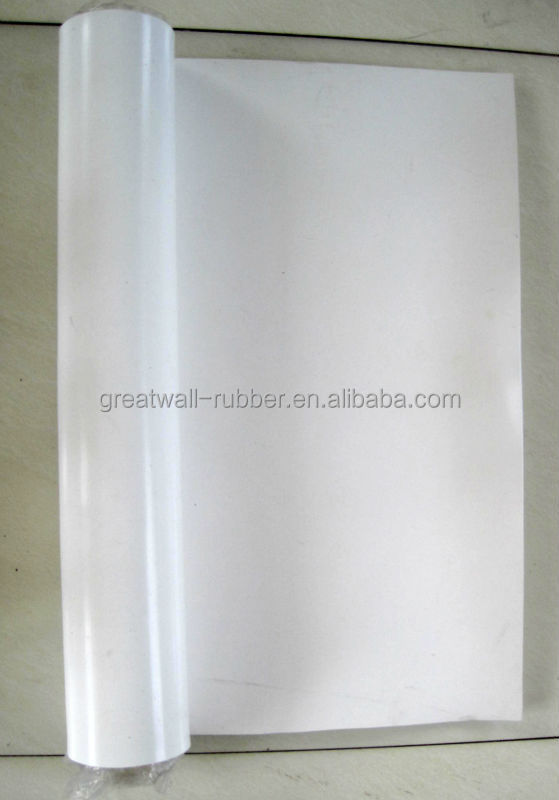industrial cured NBR EPDM SBR SILICONE rubber sheet double sides smooth finish top selling in China