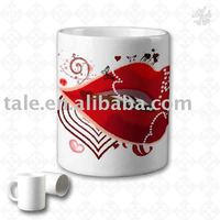 Coated Mug For Heat Transfer Machine