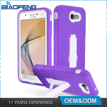 Wholesale Smartphone Cell Durable Tpu + Pc Kickstand Protector Cover New Phone Case For Samsung Galaxy J7 2017