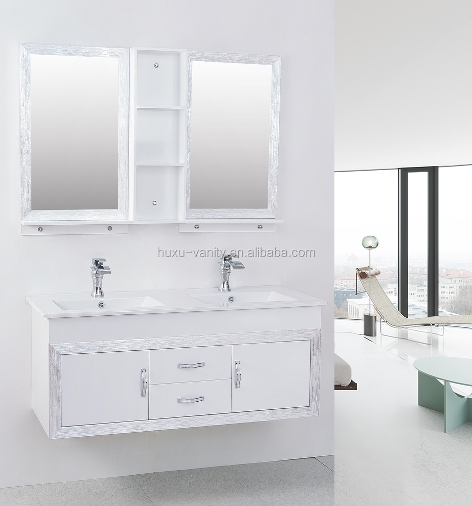 High Quality Functional Sliver Glass Bathroom LED Mirror With Light