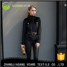 Good Quality Low Price Winter Women Jacket Faux Fur Coat Guangzhou