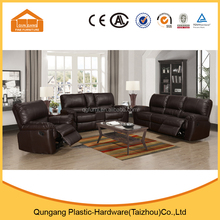 high quality lazy boy recliner sofa with brown leather material
