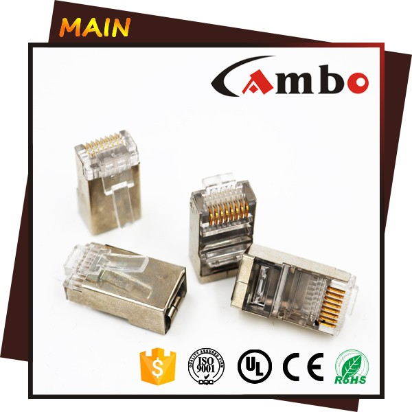 OEM Price UTP FTP Network Cable Connector CAT6A Plug