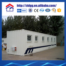 Portable container house with corrugated sheet gsm
