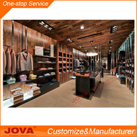 Boutique clothing store display design clothing showroom rack for sale
