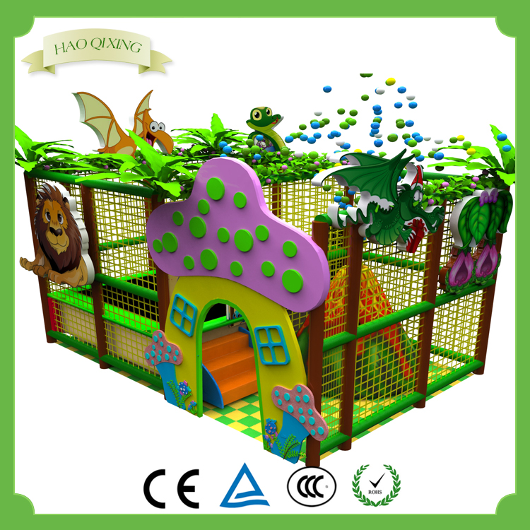Sell high quality indoor naughty fort children's soft game equipment