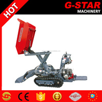 Alibaba top sale China self-loading mini dumper BY800 with CE