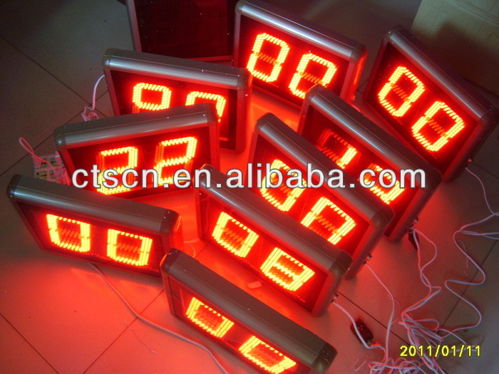 Metal Case LED Display Small Digital Countdown Timer