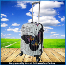 Suitcase ABS Material lightweight traveler Rolling luggage