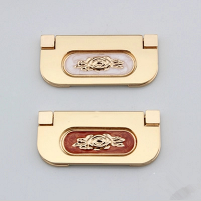 Wardrobe latticed modern European style wardrobe handle drawer cupboard door furniture hardware handle