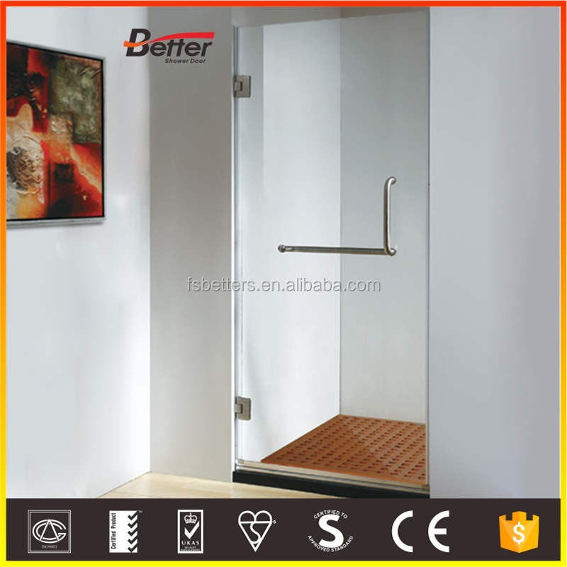 Standard size enclosed integral shower cubicle