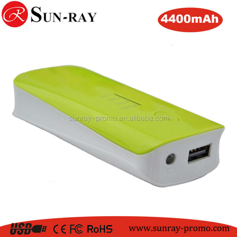 Multi function portable universal Powerbank/Power bank 4400mAh for smartphone