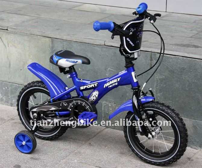 "Boy Bicycle 14"" 18"" inch Blue Color With Fender"